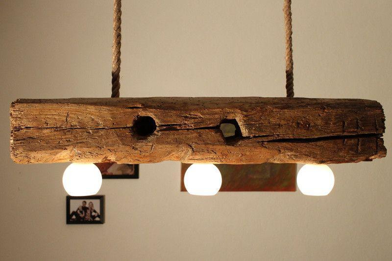 Deckenlampe Holz Rustikal