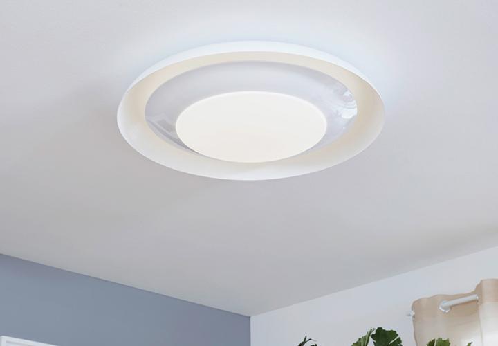 Deckenlampe Holz Weiß