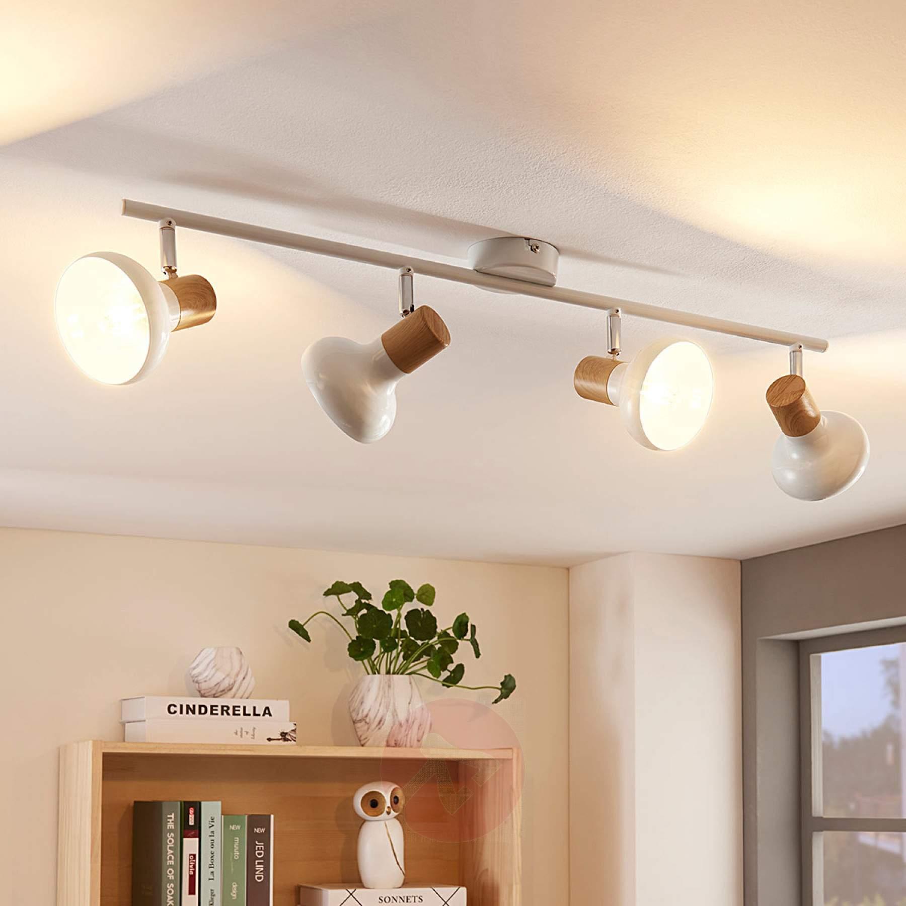 Deckenlampe Landhausstil Holz
