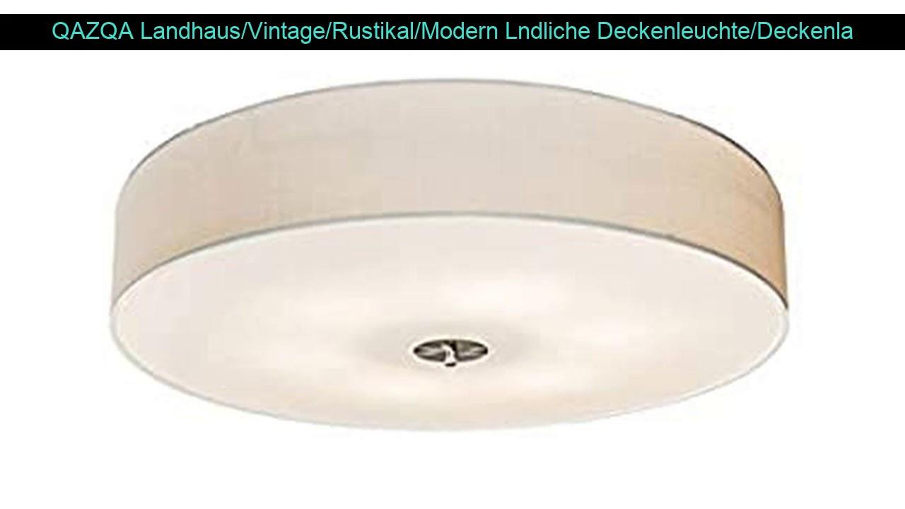 Deckenlampe Rustikal Landhaus