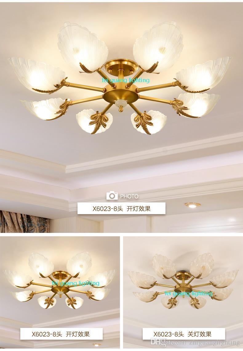 Deckenlampe Schlafzimmer Gold