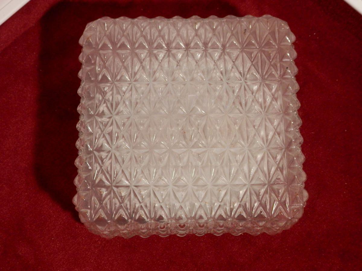 Deckenlampe Vintage Glas