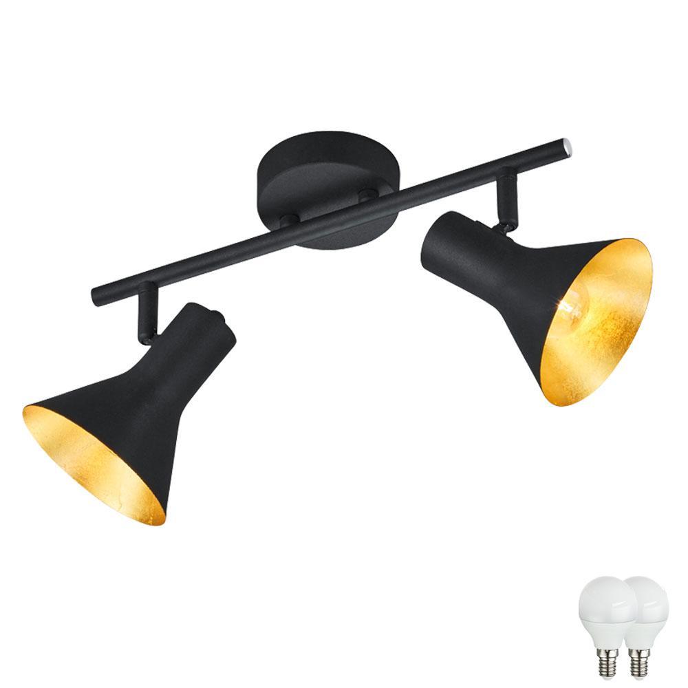 Deckenlampe Vintage Schwarz