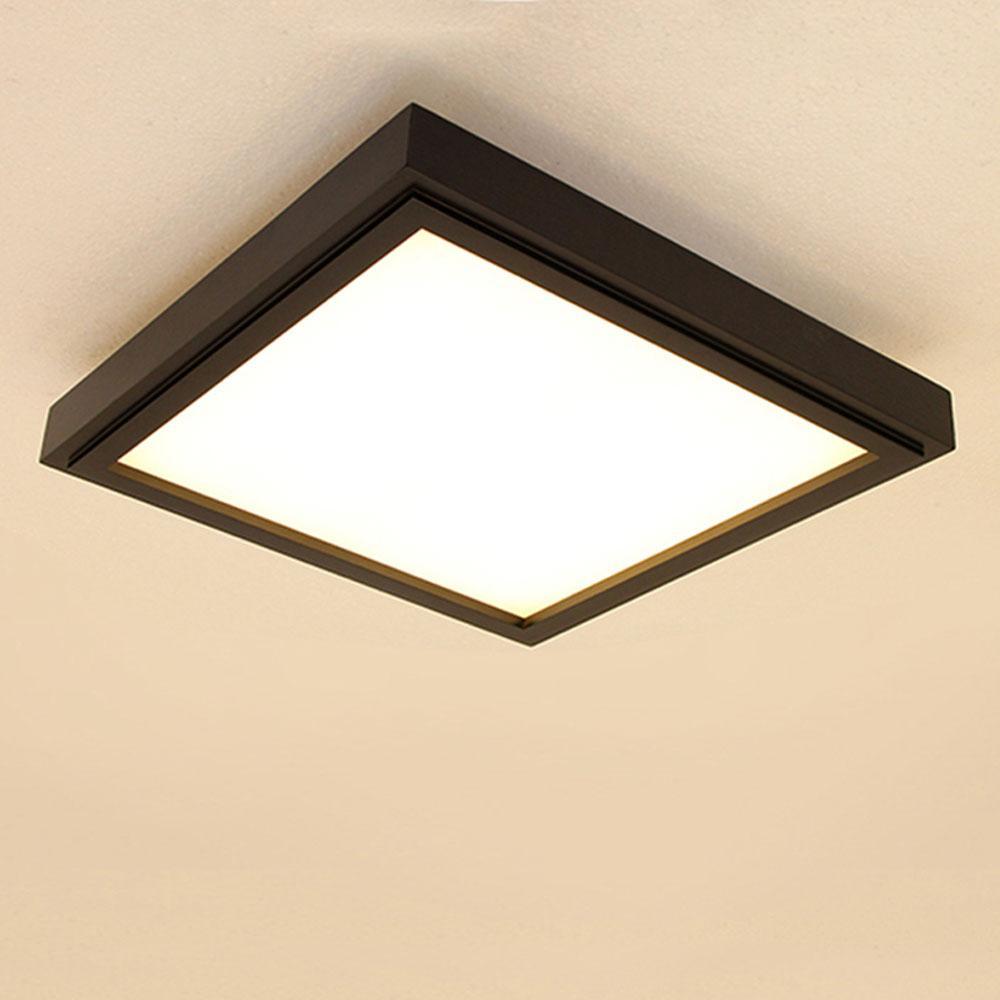 Deckenlampe Wohnzimmer Schwarz