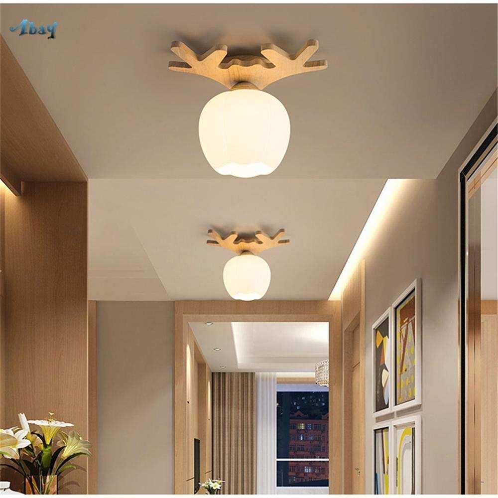 Deckenleuchte Holz Modern