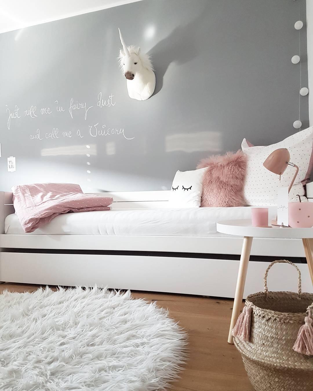 Deko Schlafzimmer Grau Rosa