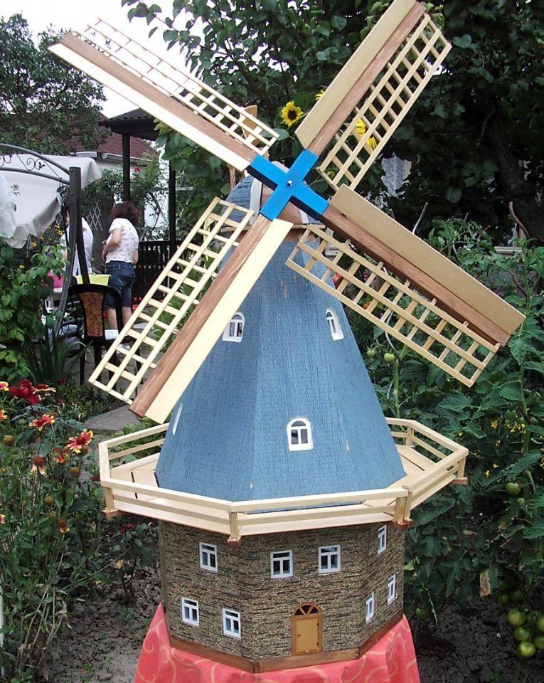 Deko Windmühlen Für Den Garten