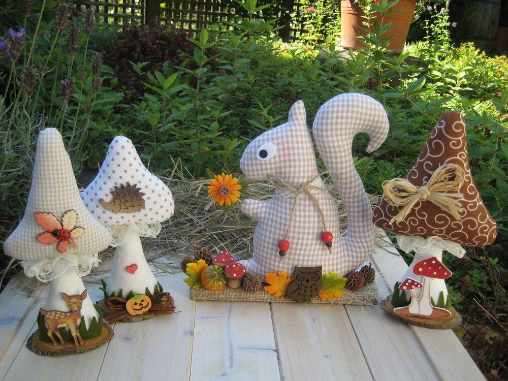 Dekofiguren Garten Herbst