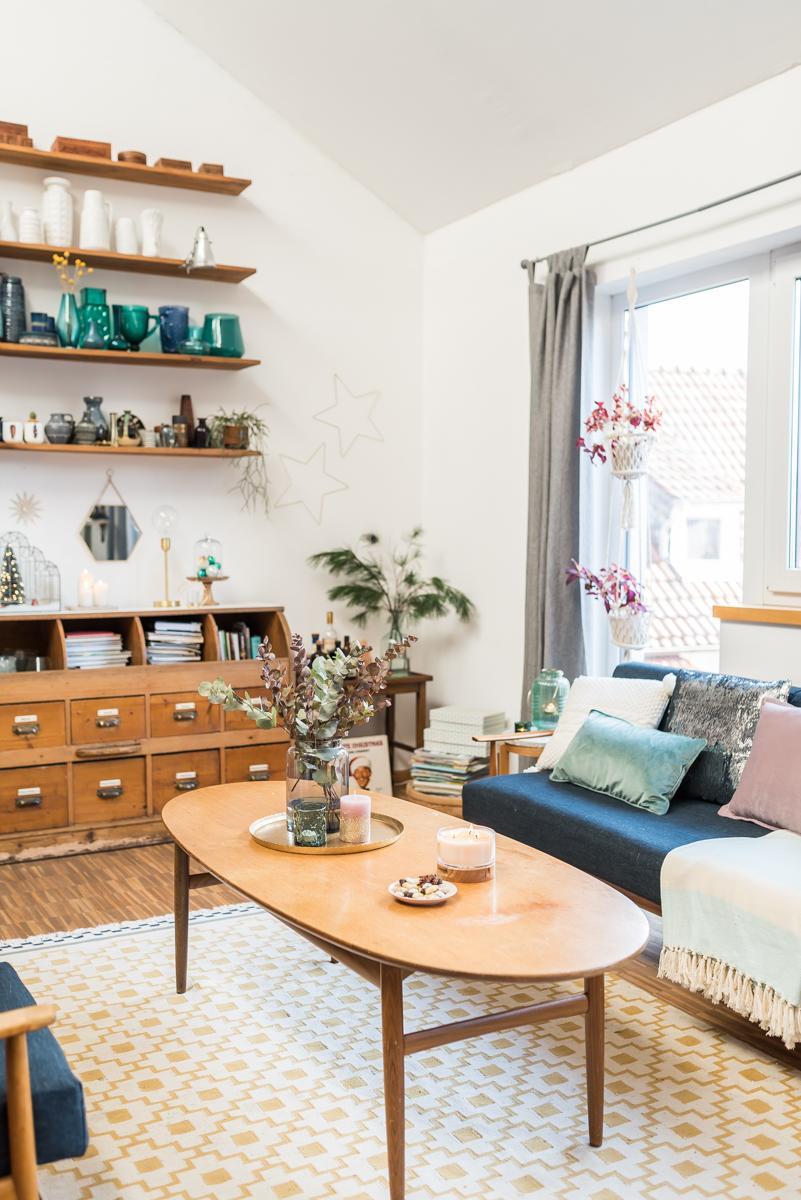Dekoideen Wohnzimmer Vintage