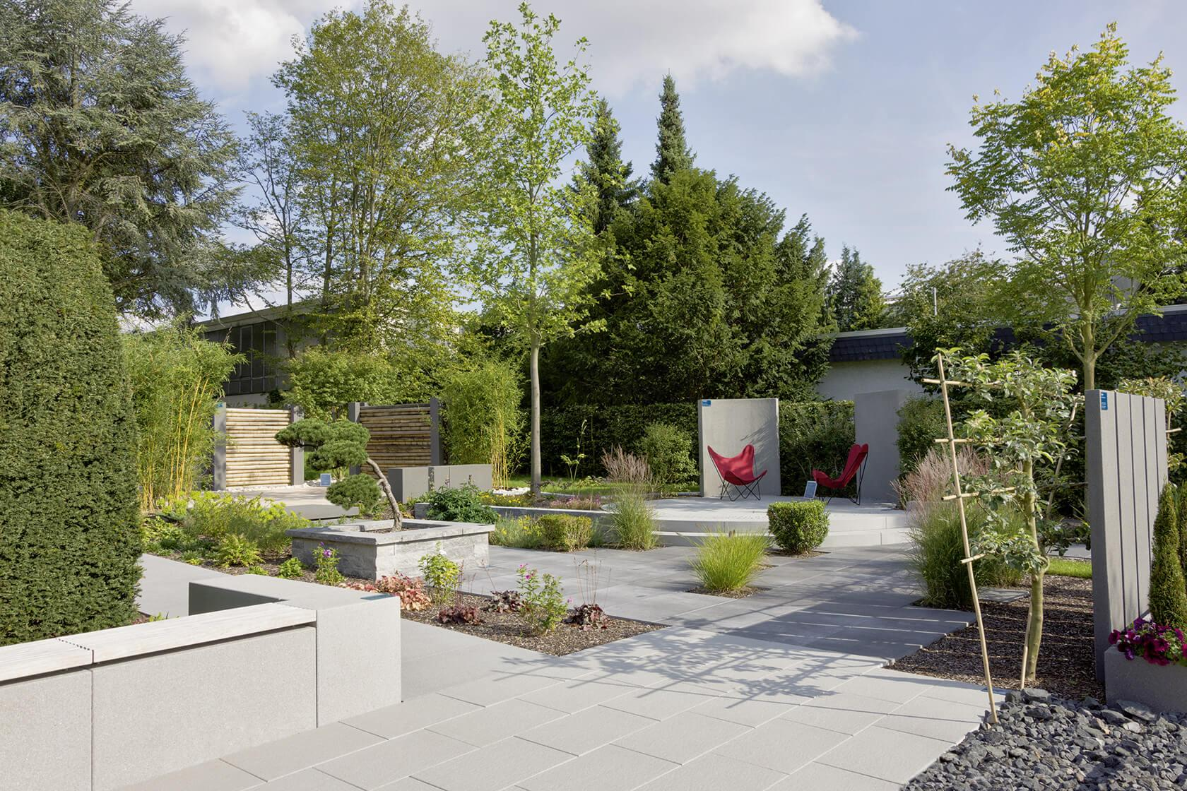 Dekosteine Garten Ideen