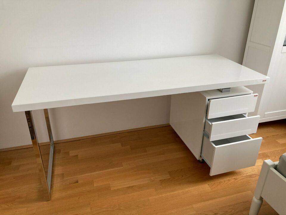Design Schreibtisch Mit Schubladen