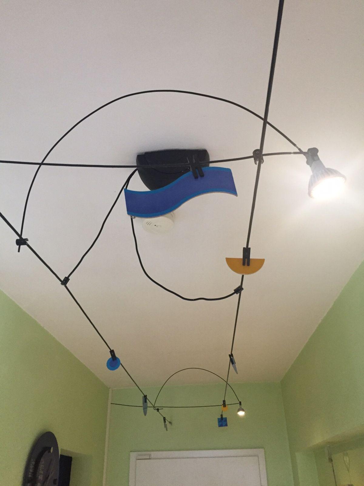 Design Seilsystem Lampe