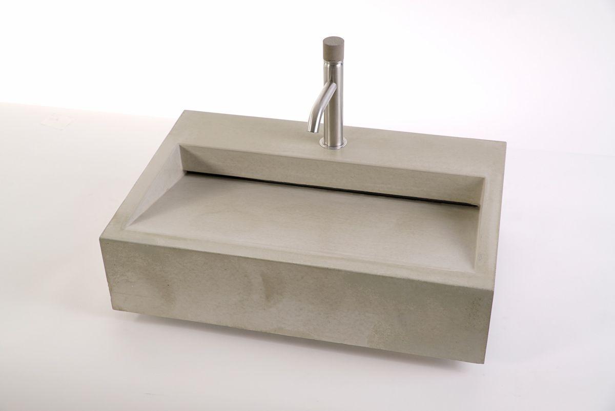 Design Waschbecken Beton