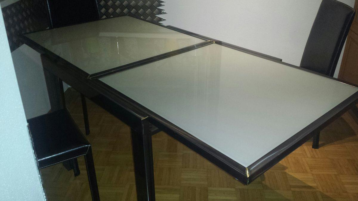 Designer Esstische Glas