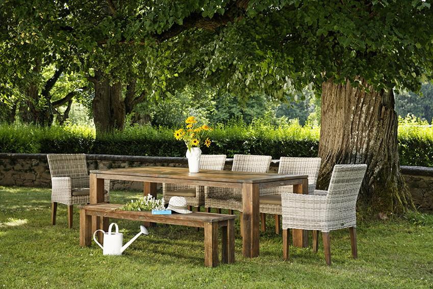 Designer Gartenmöbel Holz