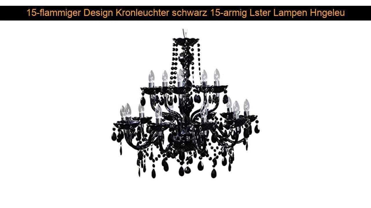 Designer Lampen Schwarz
