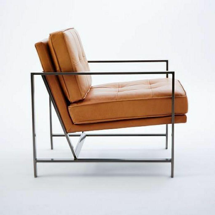 Designer Stuhl Leder