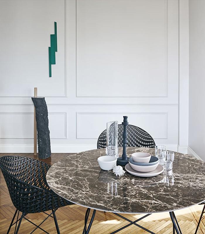 Designer Stühle Metall