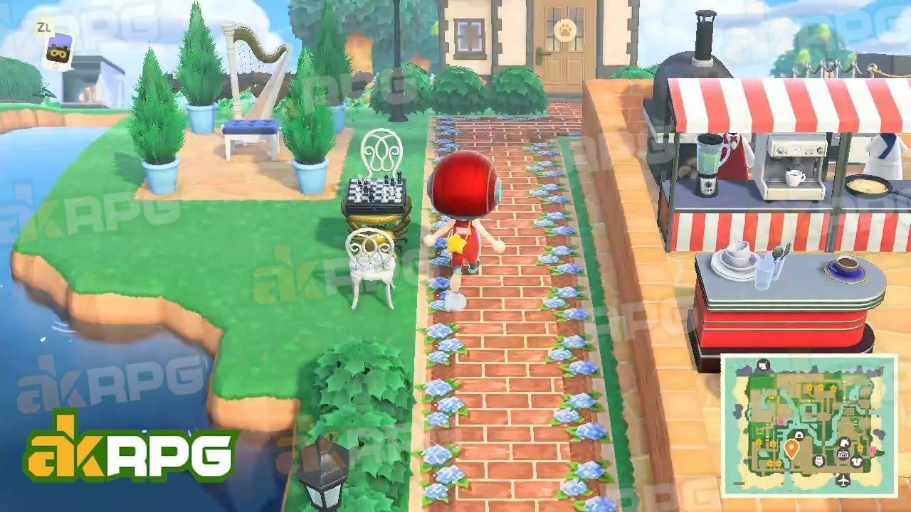 Diner Möbel Animal Crossing