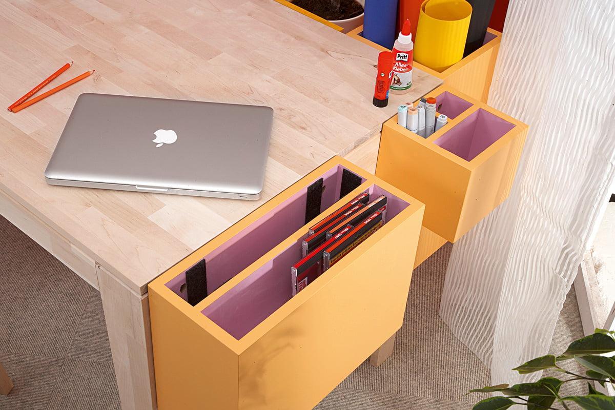 Diy Schreibtisch Mit Stauraum