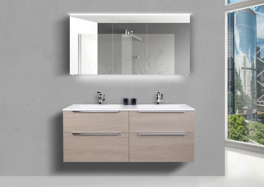 Doppelwaschbecken Badmöbel Doppelwaschtisch