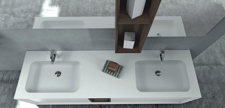 Doppelwaschbecken Unterschrank Ohne Waschbecken
