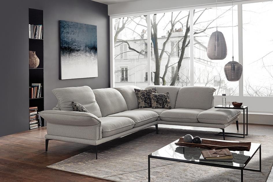 Dunkelgraues Sofa Kissen