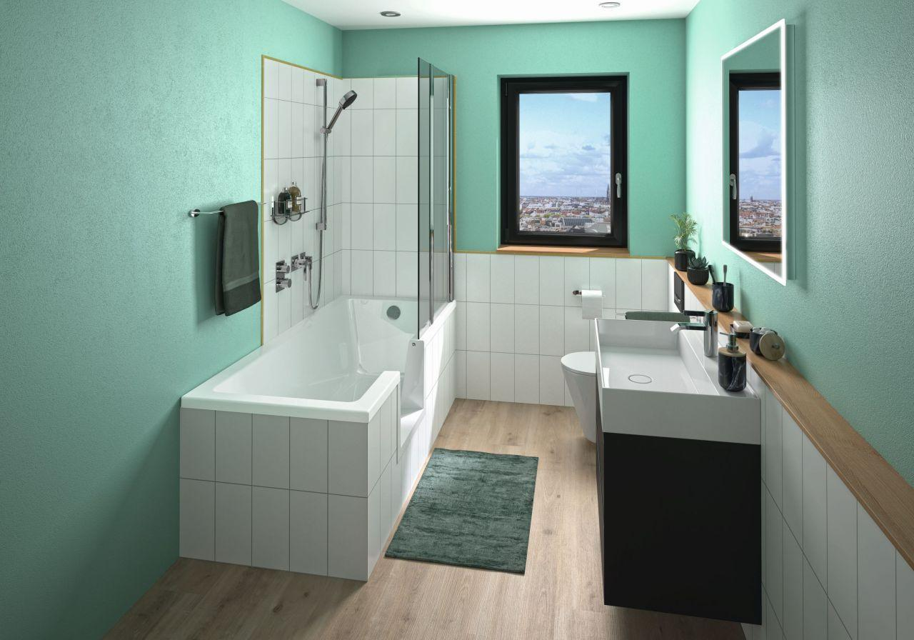 Dusche Und Badewanne Kombination