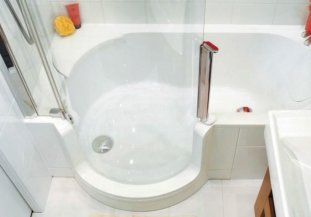 Duscholux Badewanne Mit Tür