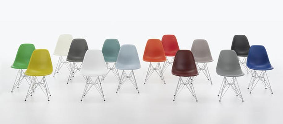 Eames Stühle Farben