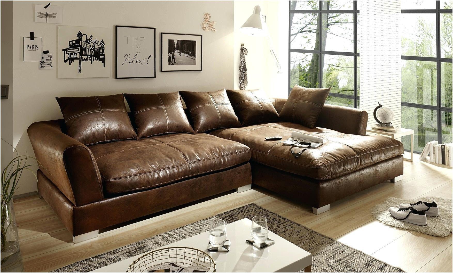 Echtleder Couch L Form