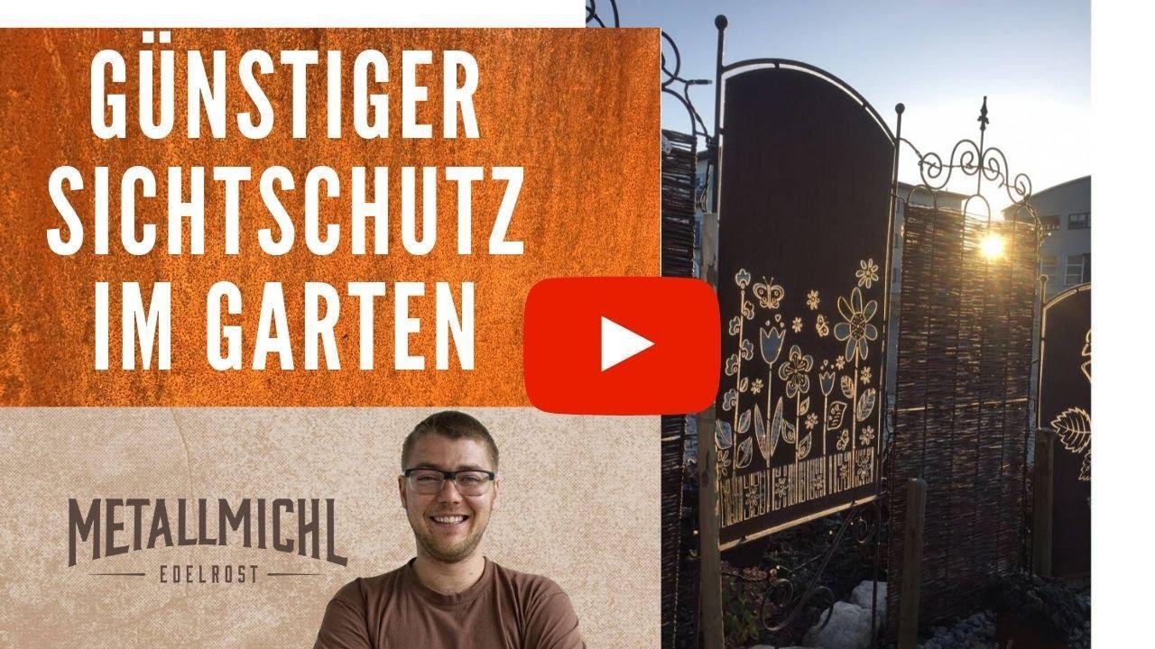 Edelrost Sichtschutz Hornbach