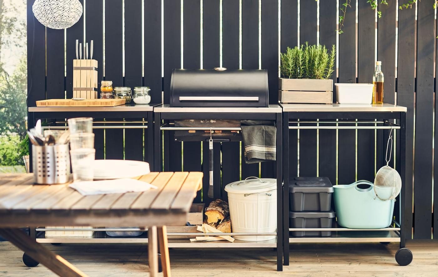 Edelstahl Outdoor Küche Ikea