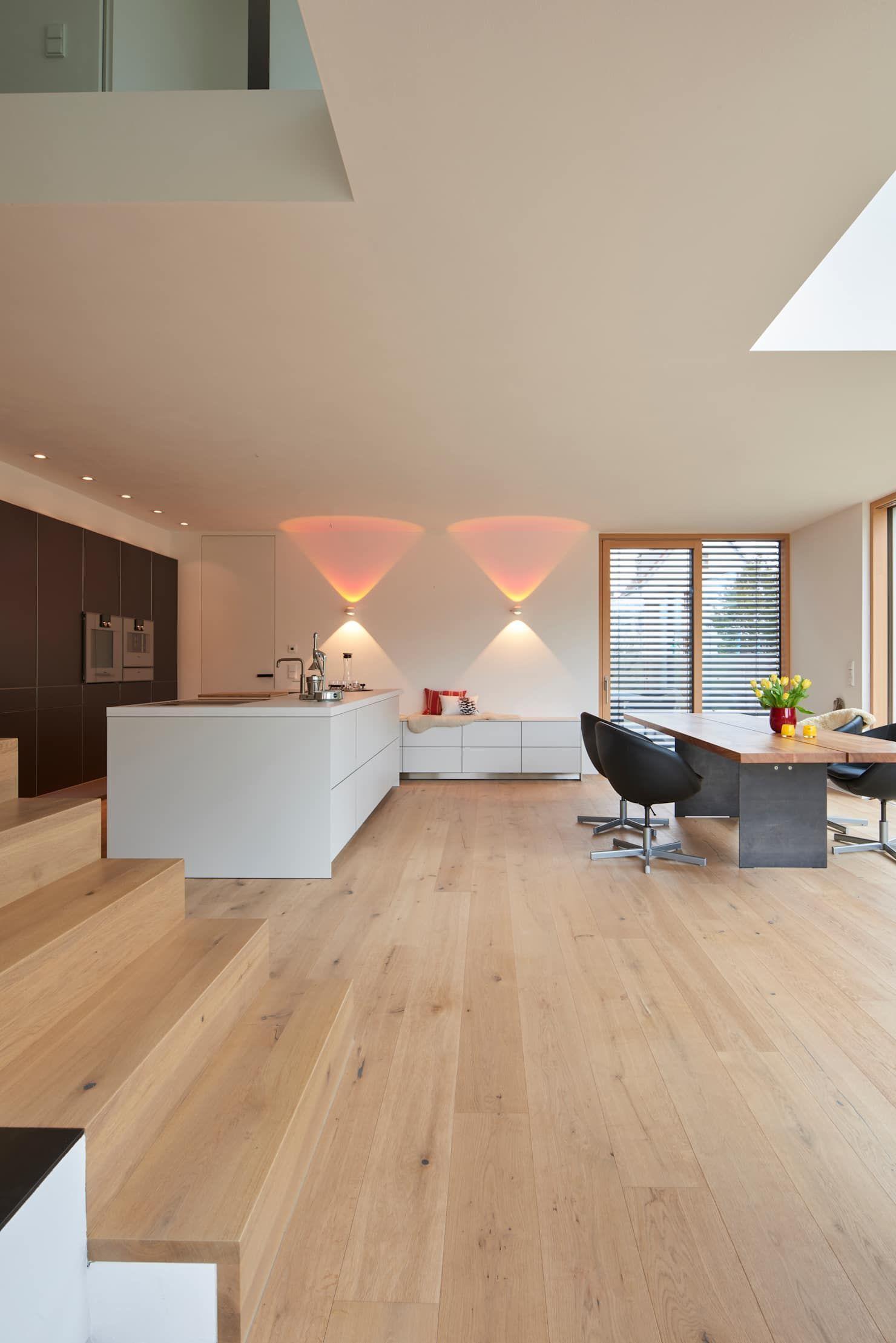 Eiche Parkett Wohnzimmer Modern