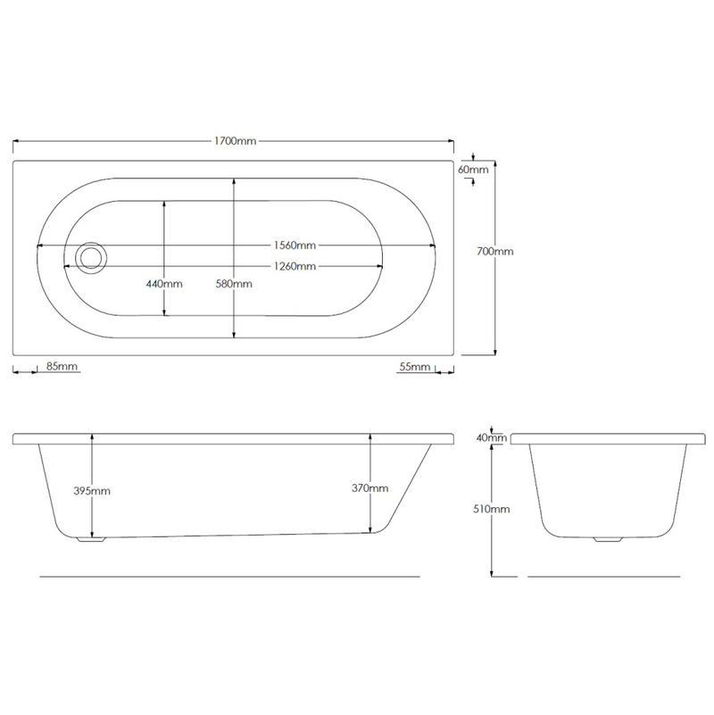 Einbau Badewanne Detail