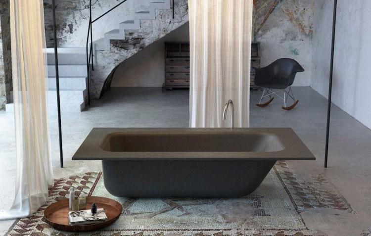 Einbau Badewanne Schwarz