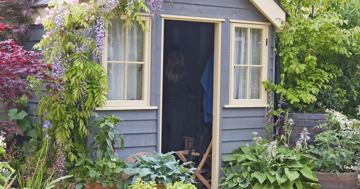 Einfache Fenster Für Gartenhaus