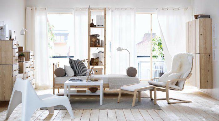 Einrichtungsidee Ikea Wohnzimmer