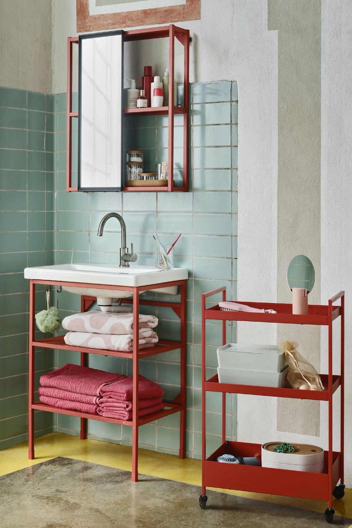 Einrichtungsideen Badezimmer Deko Ikea