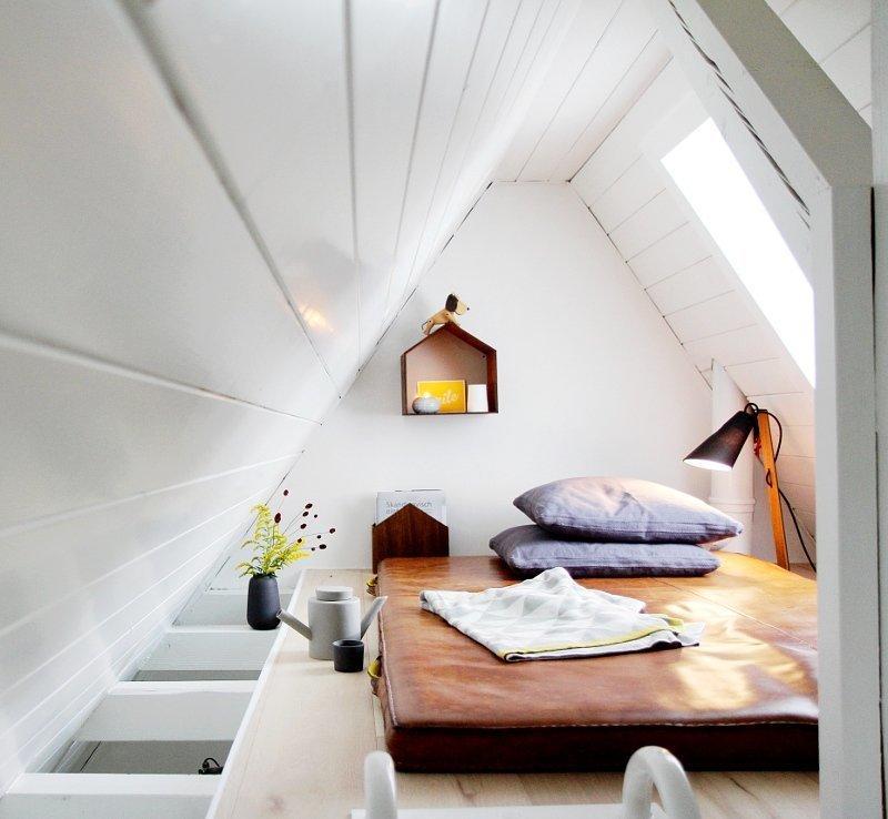 Einrichtungsideen Schlafzimmer Dachschräge