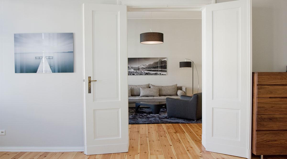 Einrichtungsideen Wohnzimmer Modern Grau