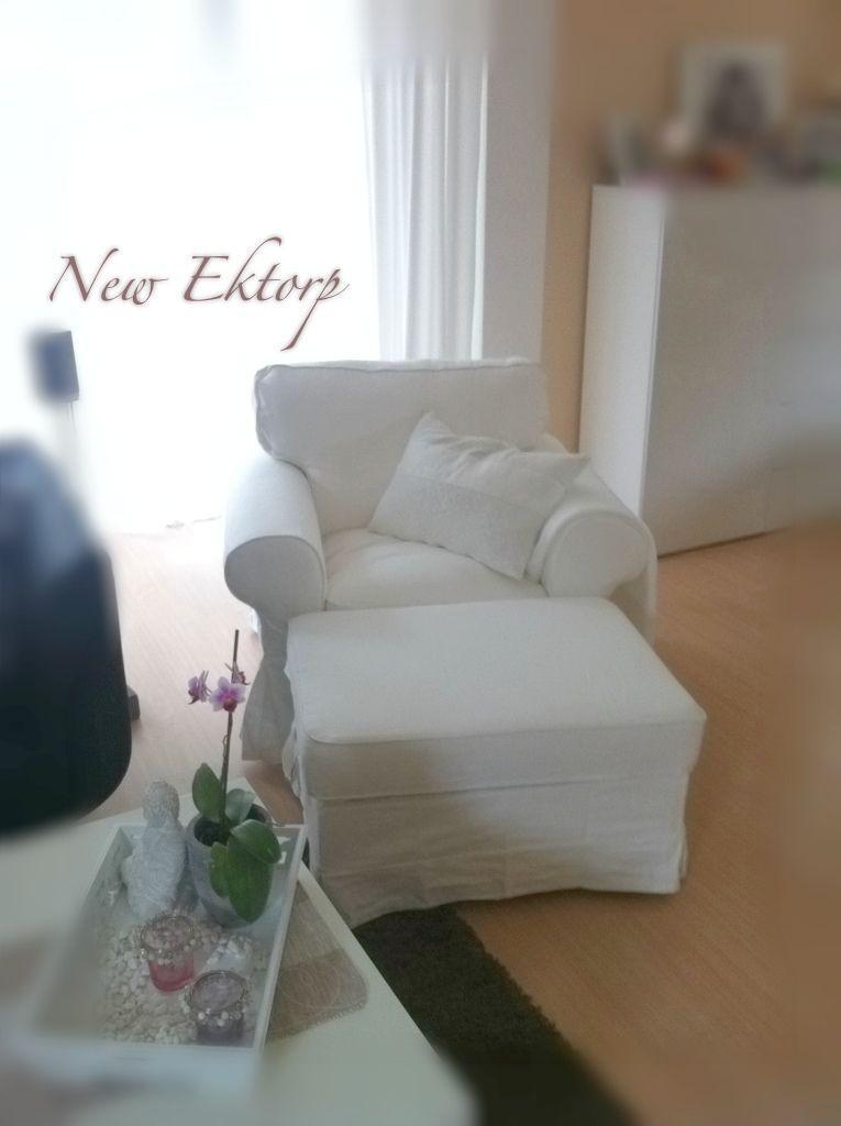 Ektorp Sessel Weiß