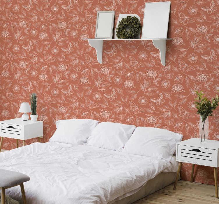 Elegante Tapeten Schlafzimmer