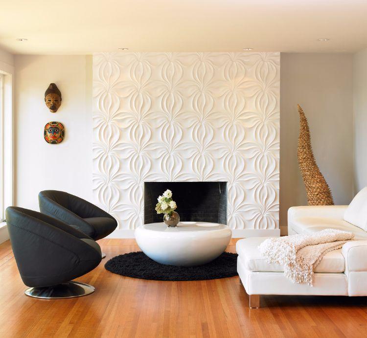 Elegante Wohnzimmer Tapeten Ideen