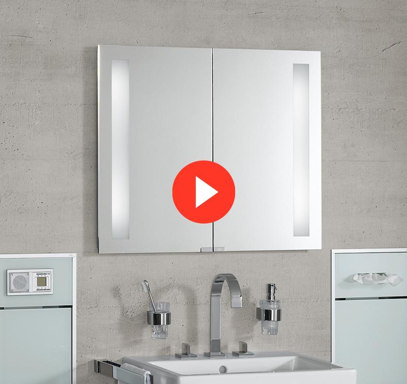 Emco Unterputz Spiegelschrank