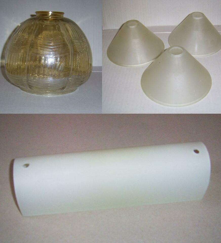 Ersatz Lampenschirm Glas Zylinder
