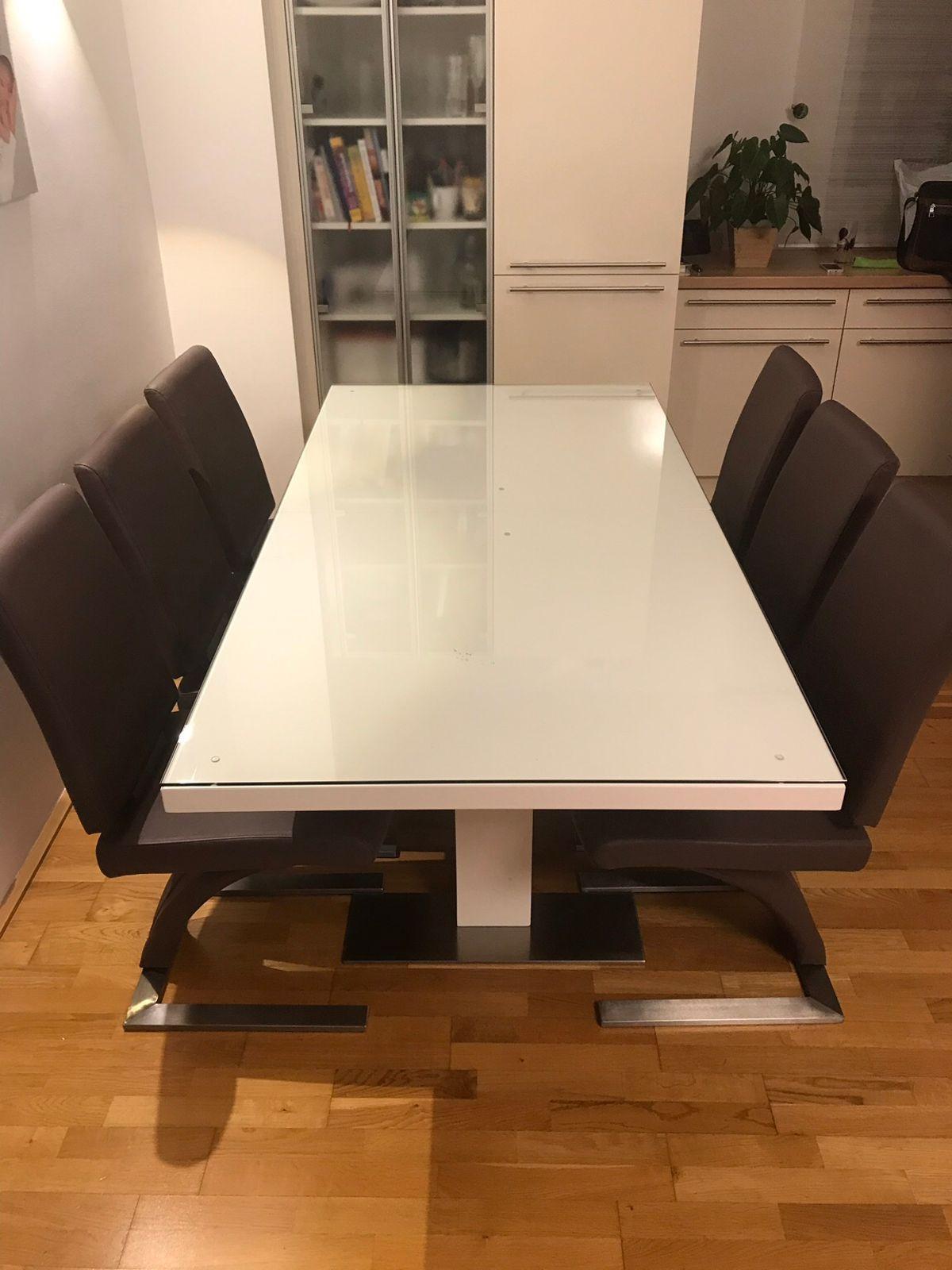Essgruppe Mit 8 Stühlen