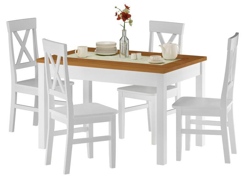 Esstisch 120×80 Mit Stühlen