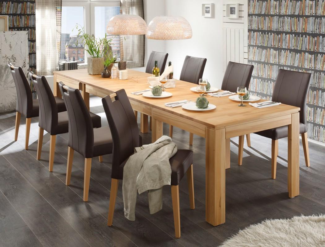 Esstisch Für 8 Personen Mit Stühlen