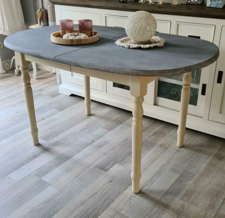 Esstisch Grau Holz